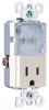 Combination Switch/Receptacle -- TM8HWLLACC -- View Larger Image