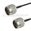 N Male to N Male Cable LMR-100 Coax in 36 Inch -- FMC0101100-36 -- View Larger Image