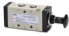 VALVE 1/4in NPT Cv=1.39 KNOB STYLE ACTUATOR 5-PORT 2-POS -- AVS-537D2-PP - Image