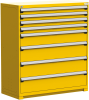 Heavy-Duty Stationary Cabinet (with Compartments) -- R5AJE-5803 -- View Larger Image