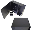 Fiber Enclosure Wall Mount with 4 FSP Series Sub panel openings -- FE-WM24PP -Image