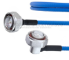 Low PIM RA 7/16 DIN Male to 7/16 DIN Male Plenum Cable SPP-250-LLPL Coax in 36 Inch and RoHS -- FMCA1306-36 -Image