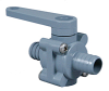 Plastic Two Way Ball Valve -- 250 Series
