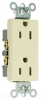 Duplex/Single Receptacle -- 26242 -- View Larger Image