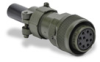 Military Style (MS) Mating Connector for TRDA-25N series encoders -- TRDA-25CON-VWD