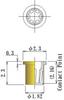 Thru Hole Short type, Round Socket Pin -- DPA5P-F23L23-GG-RL - Image