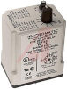 Relay;E-Mech;Timing;Single Shot;DPDT;Cur-Rtg 10A;Ctrl-V 120AC/DC;Socket Mnt -- 70175115 - Image