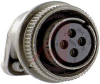 connector,straight plug,class r,size 14s,4 #16 solder socket contact,olive drab -- 70010115
