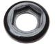 CCLR-2 - Panel mount lock ring, black nylon, 25/pk -- EW-45509-00