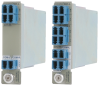 1 and 2 Channel Optical Add/Drop Multiplexer -- iConverter® CWDM/AD - Image