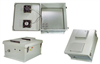 18x16x8 Inch 12 VDC Weatherproof Enclosure with Cooling Fan -- NB181608-50F -Image