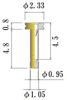 Small Size Socket Pin -- NSB10V-GG -Image
