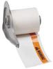 Label Cartridge,Orng/Bk/Wht,Polyester -- 5WKZ3