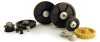 Plastic Timing Pulleys (metric) -- A 6M16M120DF6008 -Image