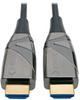 High-Speed HDMI 2.0 Fiber Active Optical Cable (AOC) - 4K x 2K HDR @ 60 Hz, 4:4:4, M/M, Black, 100 m -- P568-100M-FBR -- View Larger Image
