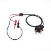 Stacking Double Banana Plug Test Cable RG174/U to XM Micro-Hooks -- 4050XM -Image