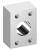 Adapters & Fittings - SAE Reservoir Adapters - Plain -- 61 Series -Image