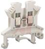 UK 2.5 N White IEC Screw Clamp TerminalBlock - 30-12 AWG -- 70169351