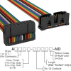 Rectangular Cable Assemblies -- A3BKB-1636M-ND -Image