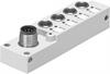 NEDU-L4R1-M8G3L-M12G8 Multi-pin plug distributor -- 574586