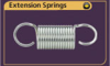 Extension Spring -- LEC085G 36 S