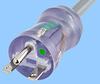 N. American NEMA 6-15 Hospital Grade Cord Set with C19 -- 86631040 -Image