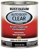 Auto Body Paint,Clear Coat,1 Qt. -- 6PER4