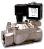 2-Way Hot Water and Steam Solenoid Valve -- SV4000A Series - Image