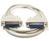 10ft DB25 F/F Null Modem Cable -- NU32-10 - Image
