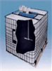 Low-Profile Right-Angle IBC Tote Mixer, 350 rpm, 1/2 HP; Air -- GO-50316-04