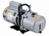 Direct-drive rotary vane vacuum pump, dual stage, 1.3 cfm, 230 VAC -- GO-79300-25
