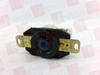 RECEPTACLE TWIST LOCK 20AMP 3P 120/208VAC L21-20R -- HBL2510