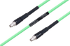 Temperature Conditioned SMA Male to SMA Male Low Loss Cable 24 Inch Length Using PE-P300LL Coax -- PE3M0225-24 -Image