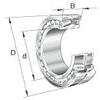 22300 Series Shaker Screen Style Spherical Roller Bearings -- 22315 E/T41A