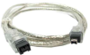 6ft 9-pin to 4-pin IEEE-1394 FireWire(r) 800/400 Cable -- IE9494-06 -- View Larger Image