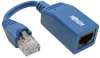Cisco Console Rollover Cable Adapter (M/F) - RJ45 to RJ45, Blue, 5 in. -- N034-05N-BL