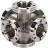 Vacuum Fitting - CF-Double Crosses -- View Larger Image