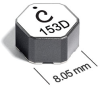 LPH8045 Series 3-Winding Coupled Inductors/Transformers -- LPH8045-822 -Image