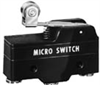 BZ Series Standard Basic Switch, Single Pole Double Throw Circuitry, 15 A at 250 Vac, Roller Lever Actuator, Quick Connect Termination, Silver Contacts, UL, CSA, ENEC -- BZ-2RW8225551-A2 - Image