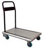 Platform Truck - Aluminum with Folding Handle: Rubber Casters -- AFT-30