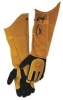 Glove,Welding,21 In L,Blk and Gold,L,Pr -- 23J996