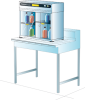 Captair® Ministore 822 A Small Storage Cabinet