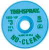 Techspray 1822 No-Clean Desoldering Braid Green 10 ft -- 1822-10F