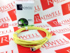 (P/N 600000221)MICRO (1/2-20) SINGLE ENDED CORDSET FEMALE STRAIGHT 3-POLE DUAL KEYWAY 22 AWG YELLOW PUR CABLE AUTOMOTIVE COLOR CODE IP 68 AND -- RKT3U66415F