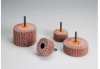 Standard Abrasives Buff and Blend 898015 Coated Silicon Carbide Flap Brush - 80 Grit - 3 in Diameter - Shaft Attachment - 42808 -- 051115-42808 - Image