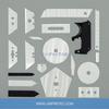 ZrO2 Zirconia Ceramic Replacement Blades For Utility Knife