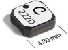LPS5015 Series Low Profile Shielded Power Inductors -- LPS5015-224 -Image