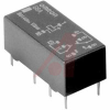 Relay;E-Mech;Low Signal;DPDT;Cur-Rtg 0.3/1AAC/ADC;Ctrl-V 12DC;PCB Mnt;Solder -- 70176187