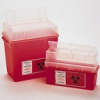 Sharps Container 1 Gallon Red -- 14-827-63
