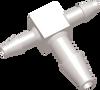 Commercial Grade Barb Enlarging Tee Connector -- AP0406T09P - Image